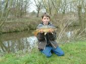This is Hartcliffe & Withywood Angling Club.  Josh Britt, aged 12, caught a personal best 8lb 8oz mirror carp on the pole with a 2lb line, size 16 hook and single sweetcorn.  Frazer Spice, aged 12, also caught his personal best – a 7lb 8oz mirror carp, again on sweetcorn. Chris Richards caught a 10lb 8oz mirror with a rigged size 12 hook using a small luncheon meat/sweetcorn combination.  He passed this tip on to Luke Parnell, aged 12, who went on to catch his personal best 7lb 8oz common.