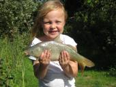 This is Jade with a lovely fish from Rushcombe - great photo!
