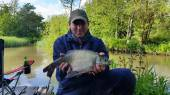 Joe Kantor - 2.2lb bream from the Match Lake