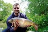 This is Joel Holland-Andrews with a nice 10.3lb carp from the Carp Lake.