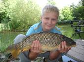This is Lewis Thomas with another super fish caught over the Bank Holiday weekend.