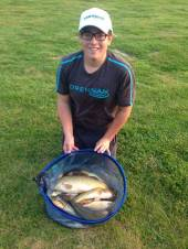 Peter Maudling was Sky's Young Angler of the month in January.  He paid a visit to Rushcombe Lake with Dad, Darren, recently and had a good day.