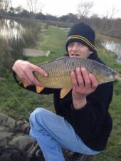 Philip Bowden caught this beauty from the Hovis pegs of the North Pool.