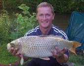 Caught by Rich Brown on carp lake with corn