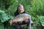 Here's Ricky Seery again with a 9.5lb carp from the Carp Lake.