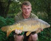 Here's Ricky Seery again with a lovely 8lb mirror carp from the Carp Lake.